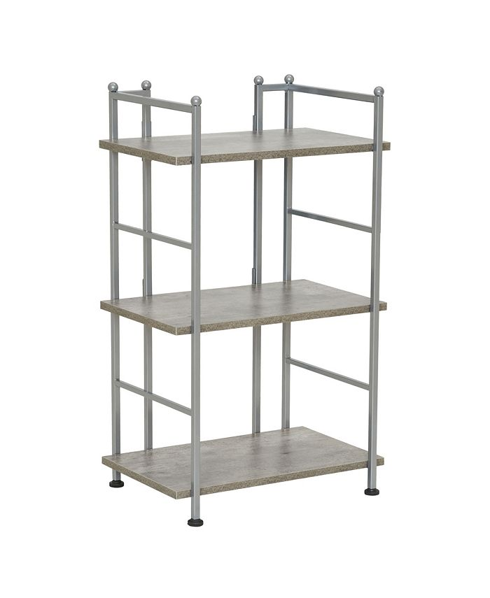 Household Essentials - 3-Tier Over the Toilet Narrow Shelving Unit
