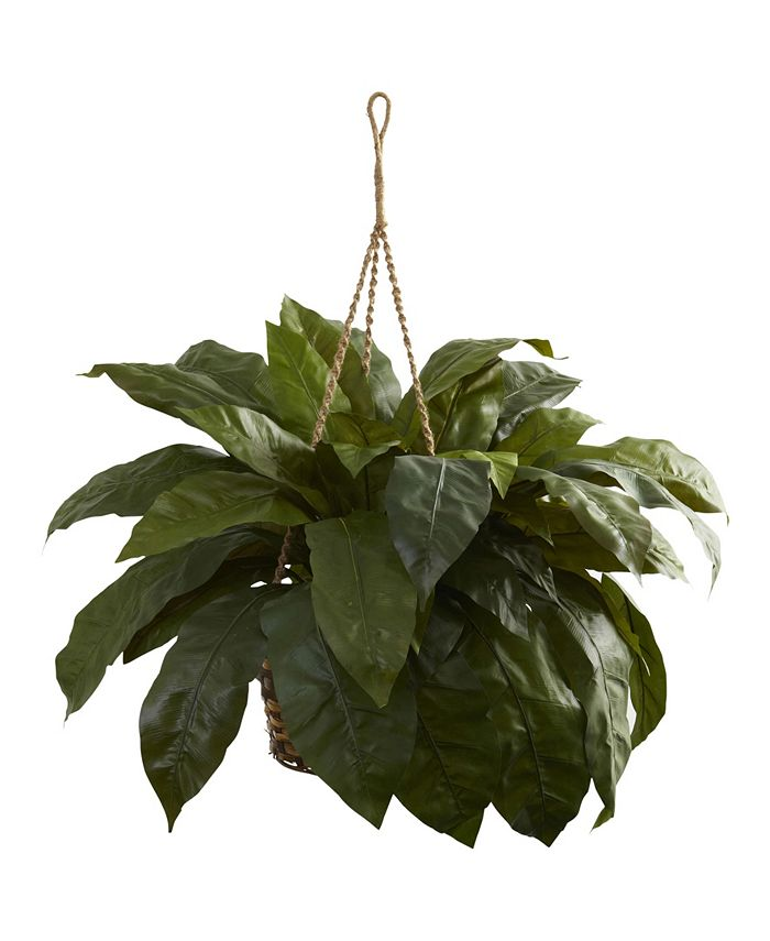 Nearly Natural - Double Giant Birds nest Hanging Basket