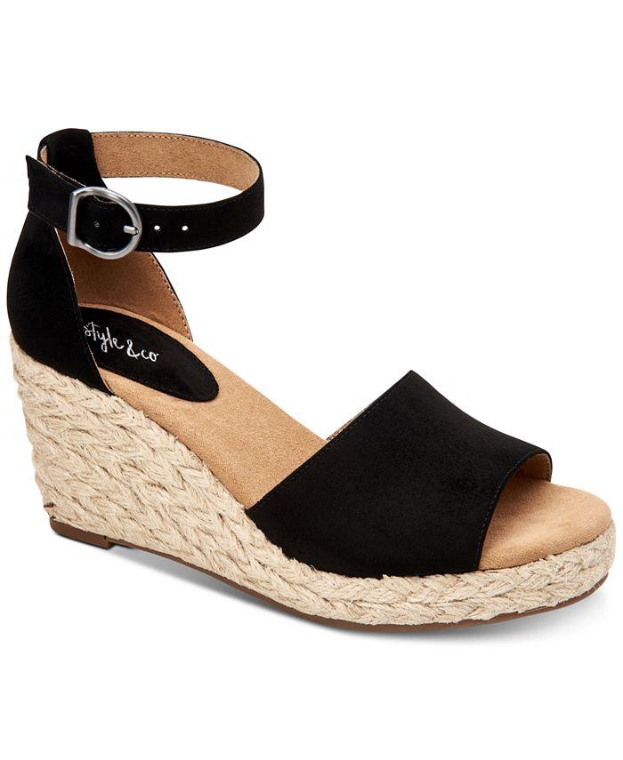 Style & Co - Seleeney Wedge Sandals