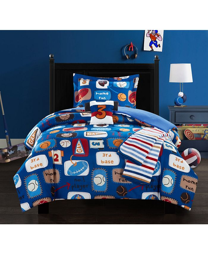 Chic Home - Sport Camp 5-Pc. Comforter Sets