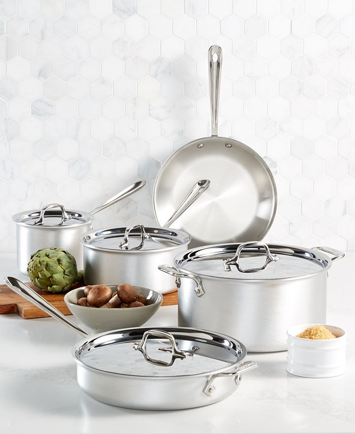 All-Clad - Master Chef 9-Pc. Cookware Set