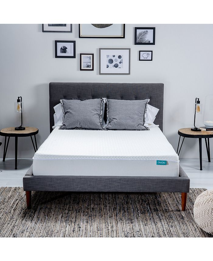 "OkiOki - 11"" Medium Firm Mattress - Full, Quick Ship, Mattress in a Box"