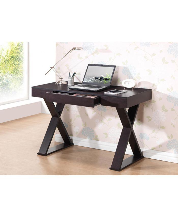 RTA Products - Techni Mobili Trendy Writing Desk, Quick Ship