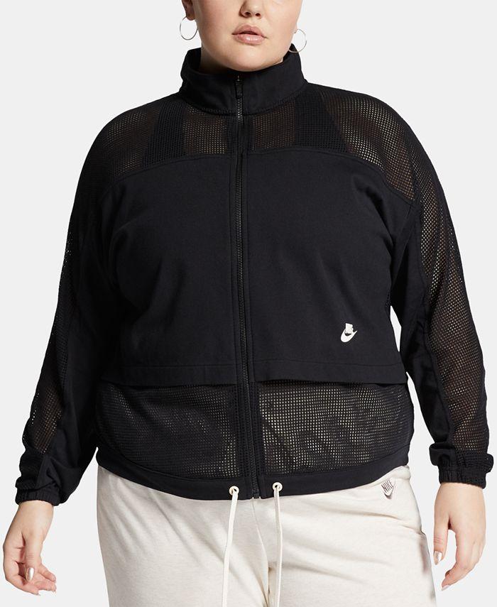 Nike - Plus Size Sportswear Mesh Jacket