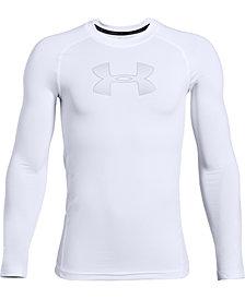 Under Armour Boys' HeatGear® Armour Long Sleeve