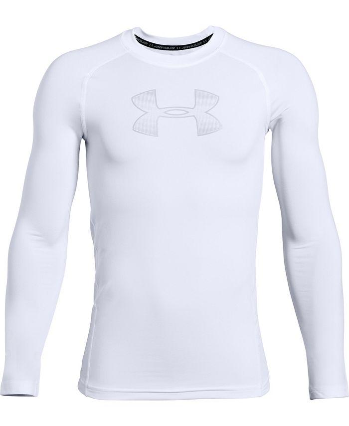 Under Armour - Boys' HeatGear® Armour Long Sleeve