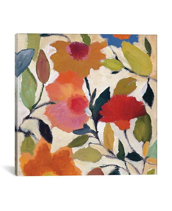 "iCanvas ""Begonias"" By Kim Parker Gallery-Wrapped Canvas Print - 26"" x 26"" x 0.75"""