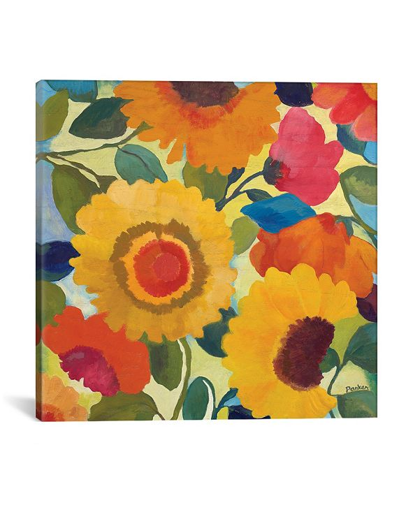 """iCanvas """"Market Flowers I"""" By Kim Parker Gallery-Wrapped Canvas Print - 37"""" x 37"""" x 0.75"""""""