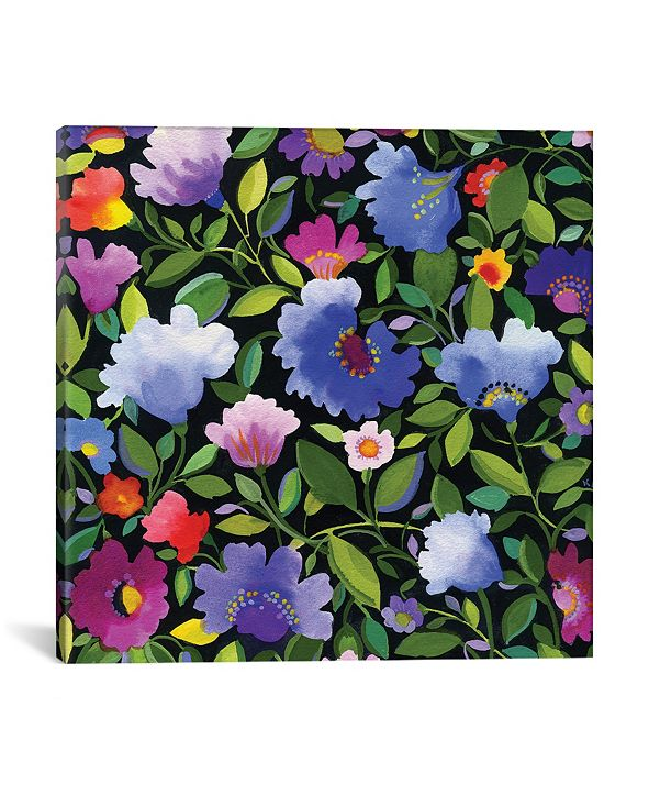 """iCanvas """"India Garden Ii"""" By Kim Parker Gallery-Wrapped Canvas Print - 12"""" x 12"""" x 0.75"""""""