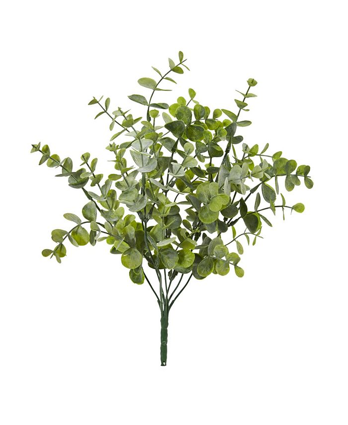 """Nearly Natural - 13"""" Eucalyptus Pick Artificial Plant (Set of 24)"""