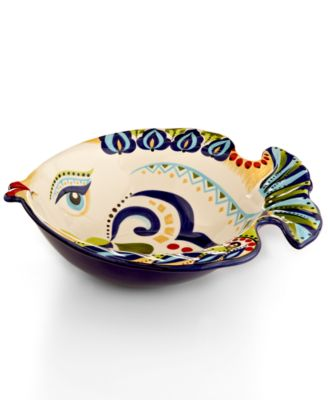 Espana Bocca Geo Fish Serving Bowl