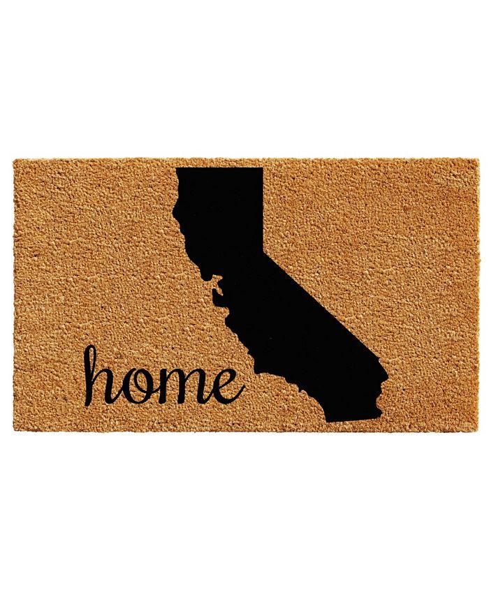"Home & More - California 18"" x 30"" Coir/Vinyl Doormat"