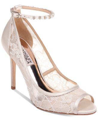 Badgley Mischka Lesley Evening Shoes