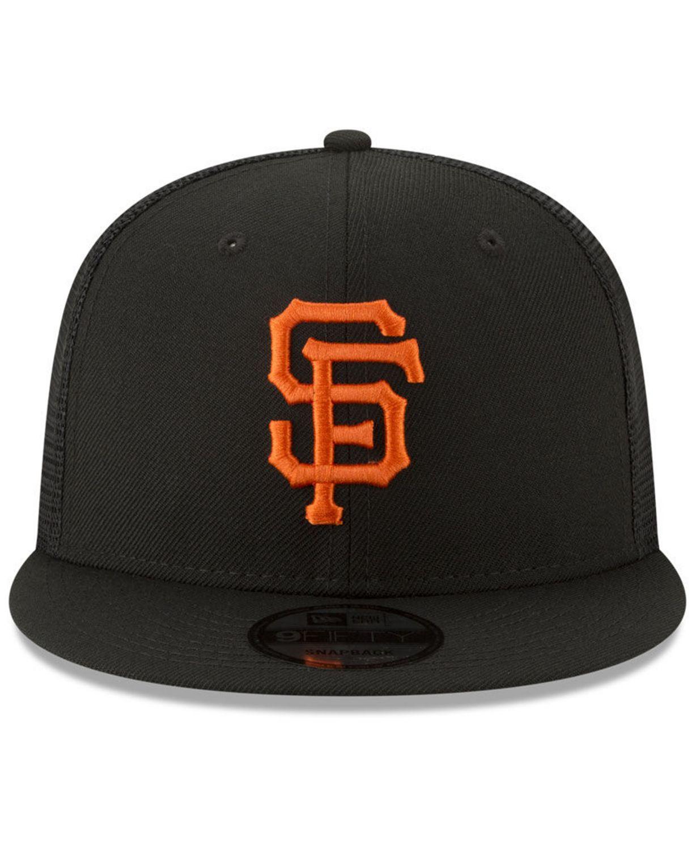 New Era San Francisco Giants All Day Mesh Back 9FIFTY Cap & Reviews - Sports Fan Shop By Lids - Men - Macy's