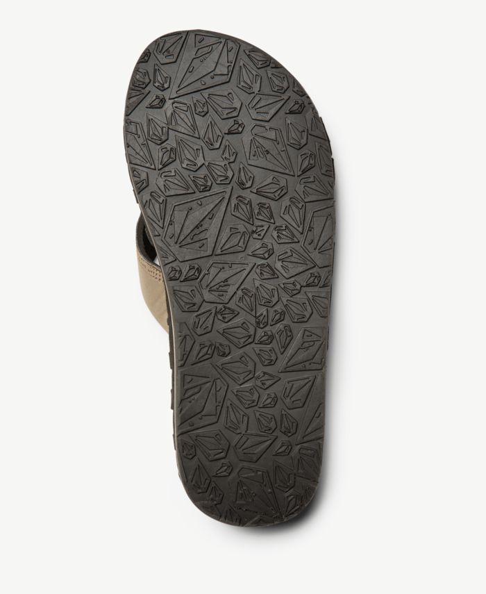 Volcom Men's Recliner Sandal & Reviews - All Men's Shoes - Men - Macy's
