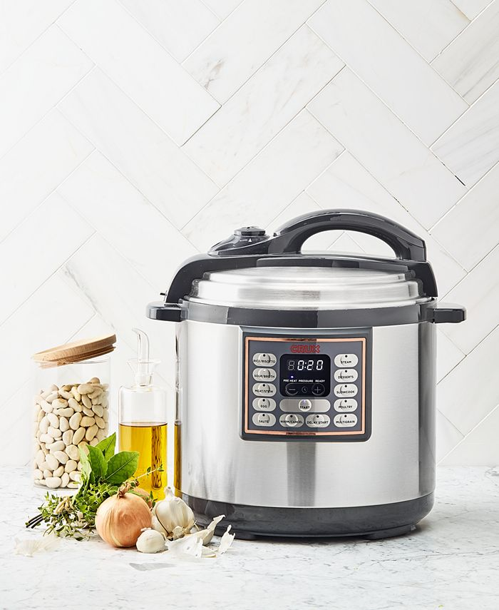 Crux - 8-Qt. 10-In-1 Programmable Multi-Cooker