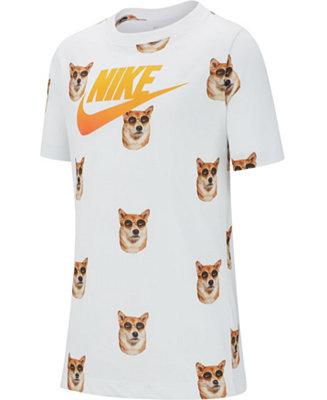 Adaptabilidad Desaparecer productos quimicos  Nike Big Boys Nike Air Dog Logo T-Shirt & Reviews - Shirts & Tops - Kids -  Macy's
