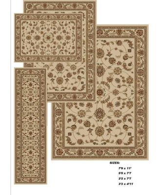 Kenneth Mink Area Rug Set, Florence Collection 4 Pc.