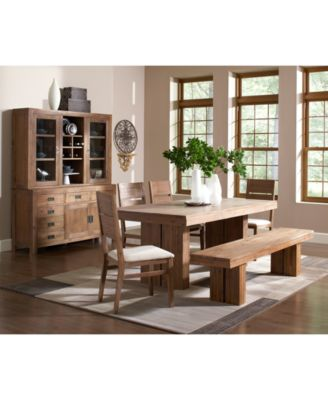 Champagne 4 Piece Dining Room Furniture Set