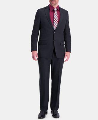 Men's Active Series Herringbone Classic-Fit  Suit Separate Jacket