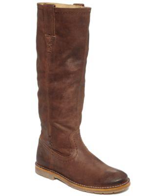 Frye Women's Celia X Stitch Riding Boots
