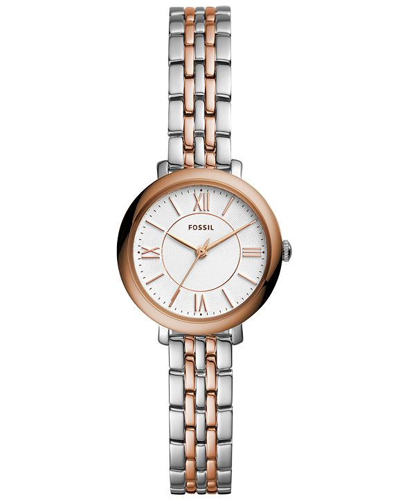 Fossil Women's Stainless Steel Bracelet Watch 26mm