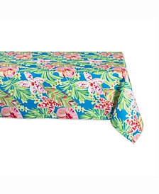 """Summer Floral Outdoor Table cloth 60"""" X 84"""""""