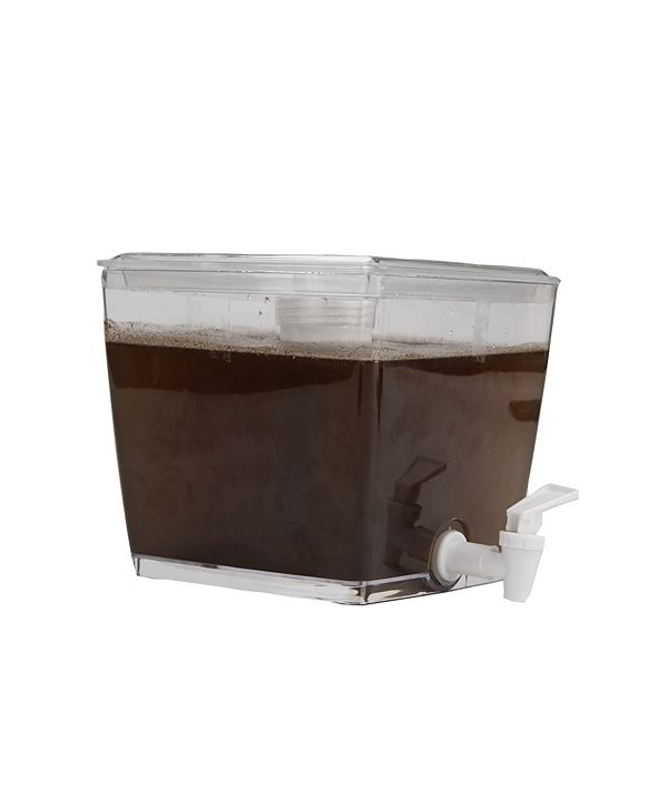 Mind Reader Cold Brew Beverage Dispenser, Brewed Iced Coffee Maker