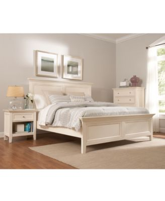 Sanibel 3-Piece Queen Bedroom Set with Bachelors Chest - Furniture ...