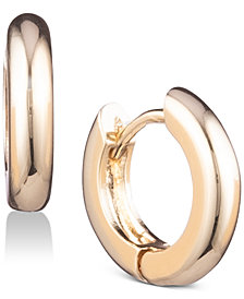 Anne Klein Huggie Small Hoop Earrings
