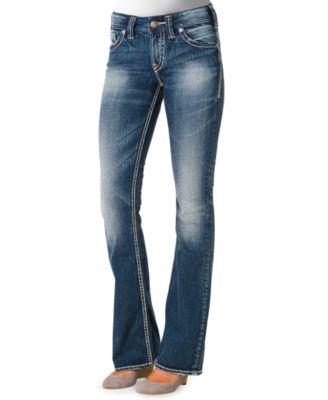 Silver Jeans Suki Surplus Bootcut Jeans, Medium Wash - Jeans ...