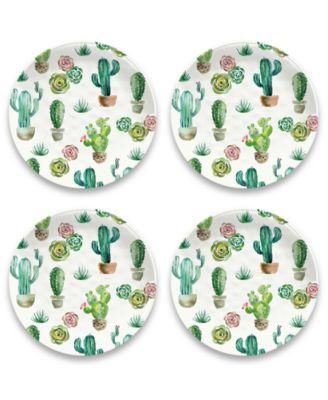 """Desert Garden Dinner Plate, 10.5"""", Melamine, Set of 6"""