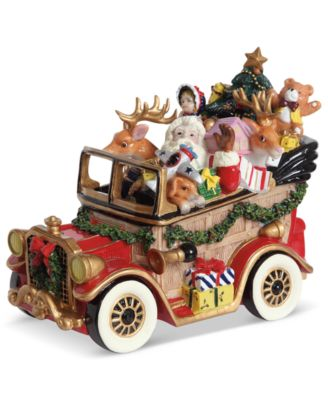 Fitz and Floyd Collectible Figurine, Musical Santa Mobile