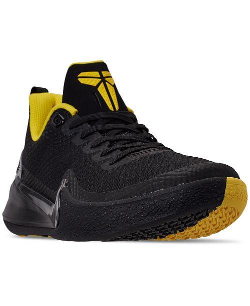 Nike Men's Mamba Rage Basketball Sneakers from Finish Line ...