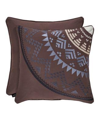 "J Queen Okemo  18"" Square Decorative Throw Pillow"
