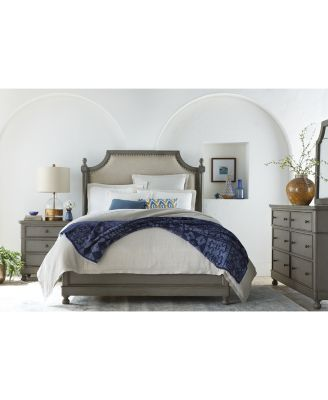 Bella Bedroom Furniture, 3-Pc Set (Upholstered Queen Bed, Nightstand & Dresser), Created for Macy's