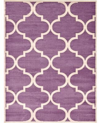 Arbor Arb3 Purple 9' x 12' Area Rug