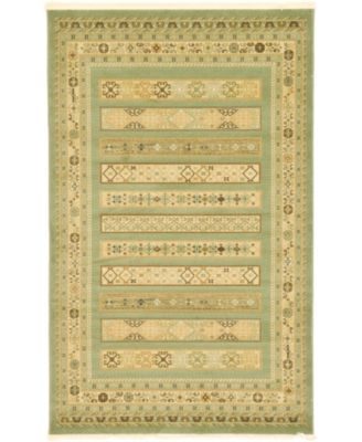 Ojas Oja4 Light Green 5' x 8' Area Rug