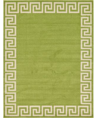 Anzu Anz2 Light Green 9' x 12' Area Rug