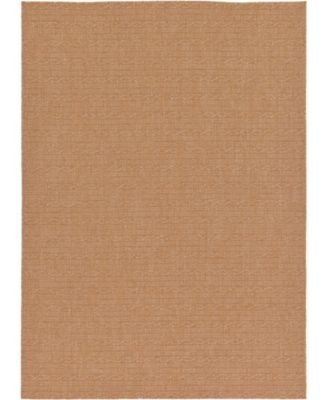 Pashio Pas6 Light Brown 7' x 10' Area Rug