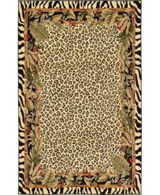 Maasai Mss1 Ivory 5' x 8' Area Rug