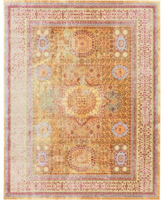 Malin Mal1 Gold 9' x 12' Area Rug
