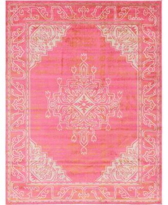 Aroa Aro8 Pink 9' x 12' Area Rug