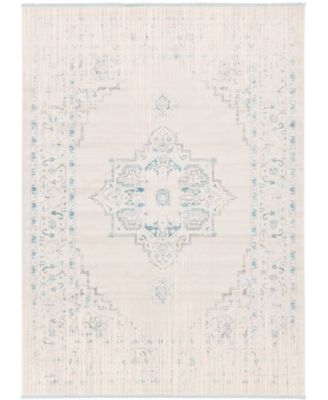 Norston Nor2 Ivory 9' x 12' Area Rug