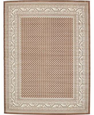 Axbridge Axb1 Brown 9' x 12' Area Rug