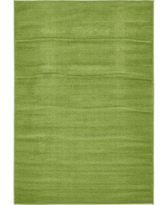 Axbridge Axb3 Green 4' x 6' Area Rug