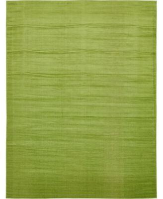 Axbridge Axb3 Green 9' x 12' Area Rug