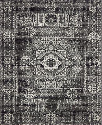 Wisdom Wis3 Black 8' x 10' Area Rug