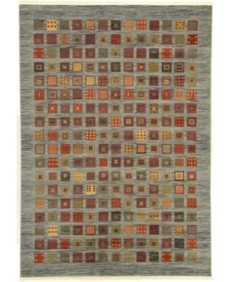 Ojas Oja6 Light Blue 7' x 10' Area Rug