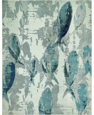 Ikbal Ikb6 Light Blue 8' x 10' Area Rug